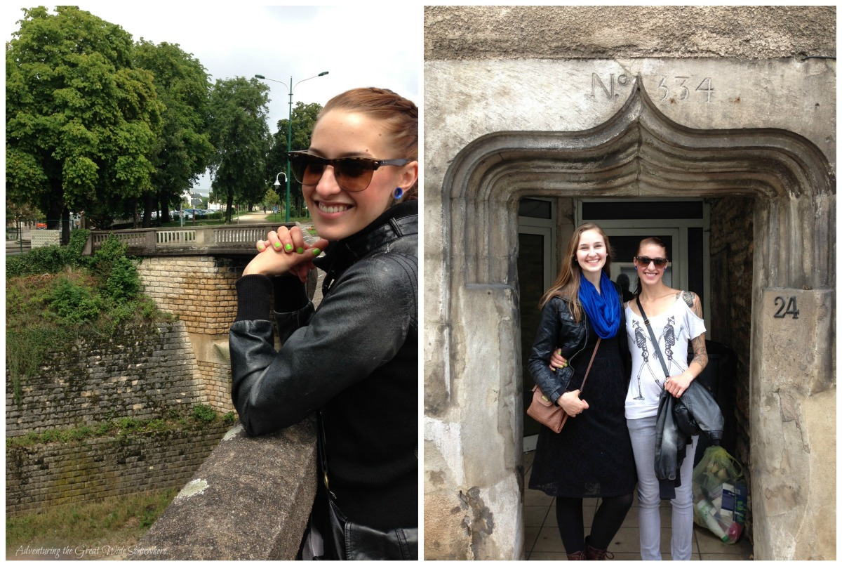My Beautiful Sisters Exploring the Streets of Chaumont, France.jpg
