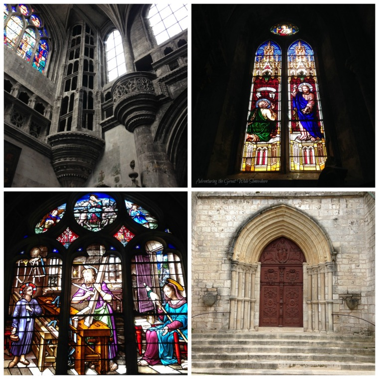 Stained Glass and Other Interior Details in the Basilique Sainte Jean-Baptiste, Chaumont, France.jpg