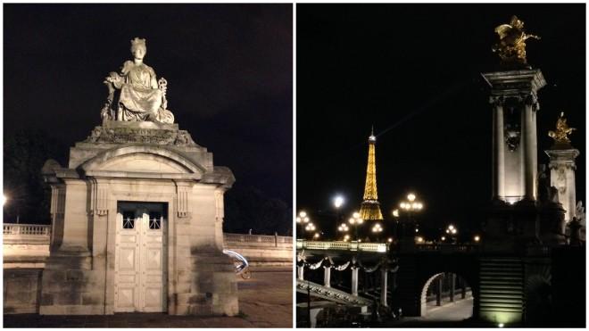 Midnight Stroll in Paris