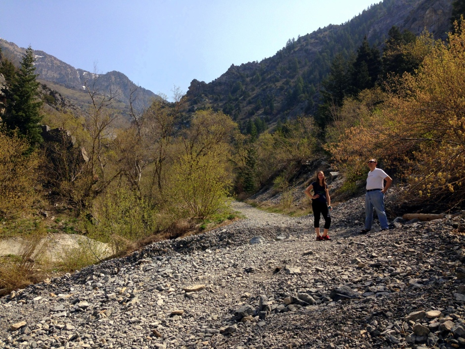 Rock Canyon Trail Landscape