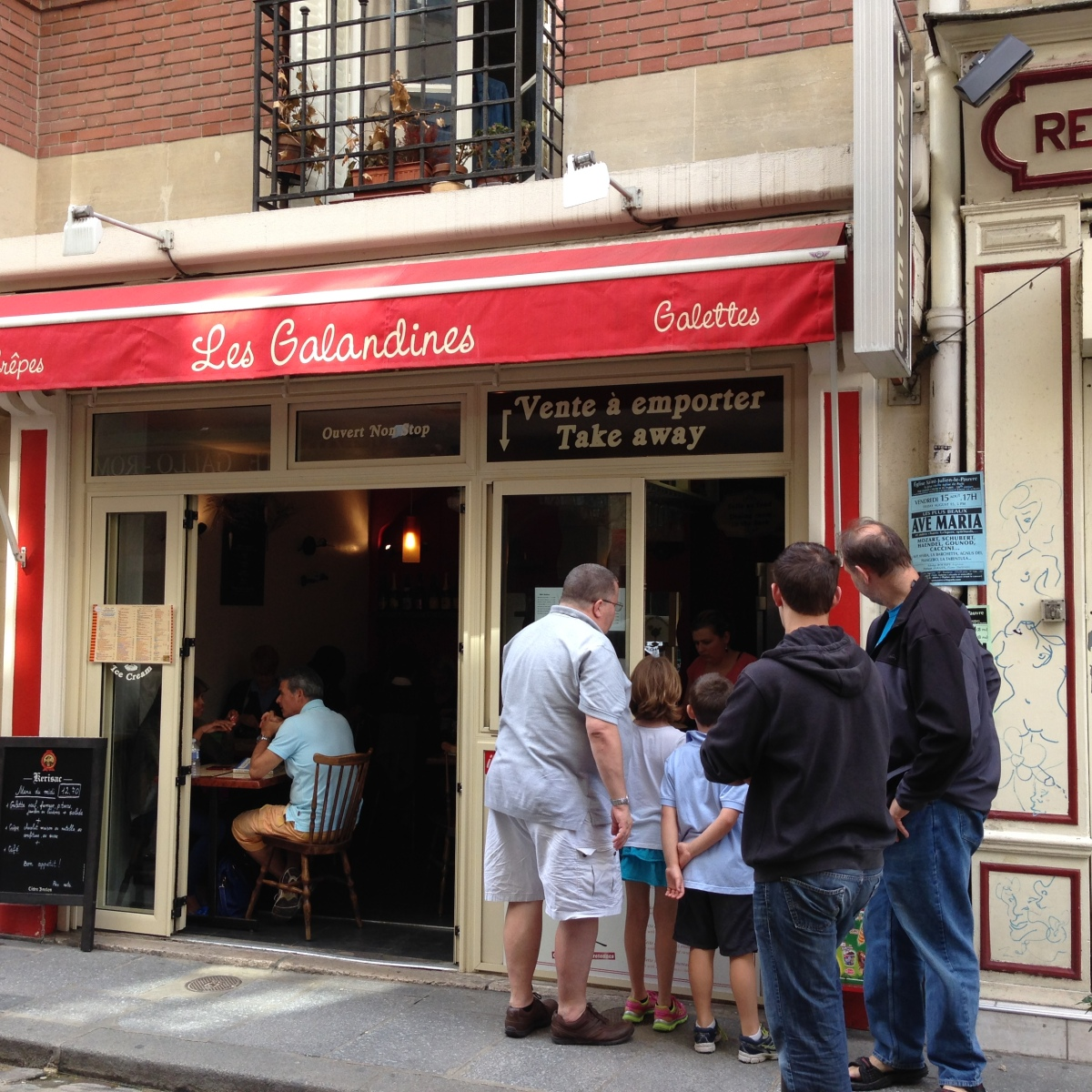 Crepes Near Notre Dame