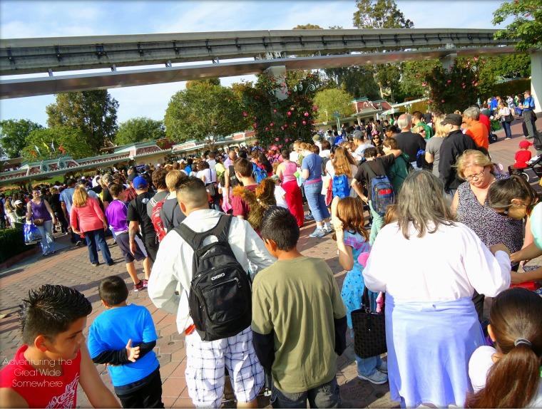 Long Lines to Enter Disneyland Park.jpg