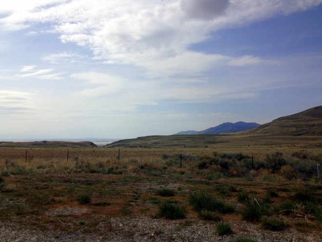 Driving to Promontory Summit