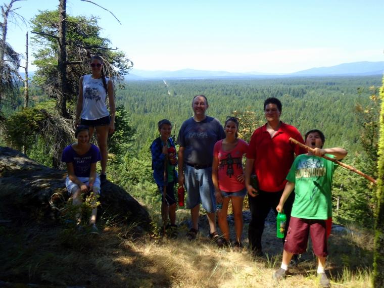 Family Hiking Trip