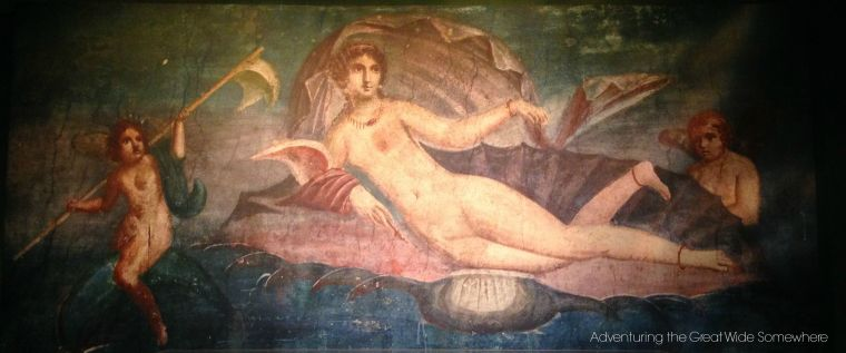 Fresco of a Woman from Pompeii