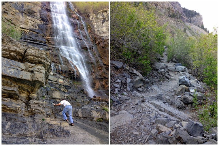 Hiking Bridal Veil Falls