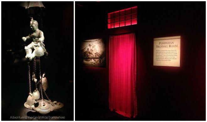 Pompeiian Brothel Room