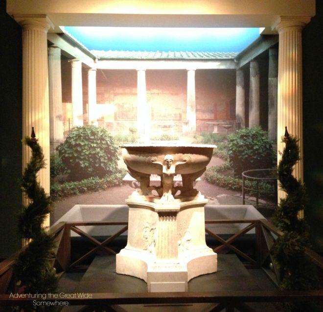 Pompeiian Marble Fountain