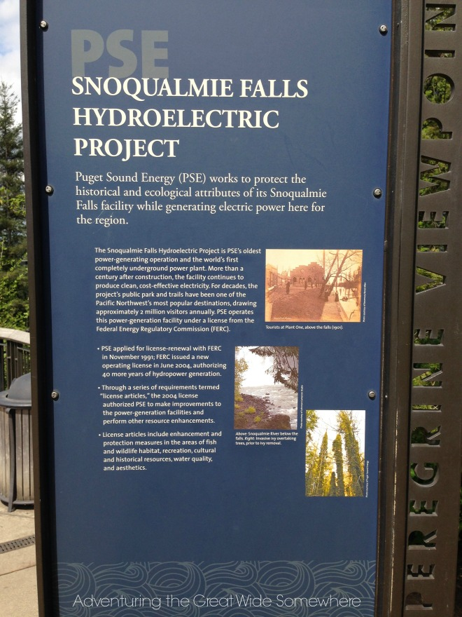 About the Snoqualmie Falls Hydroelectric Project