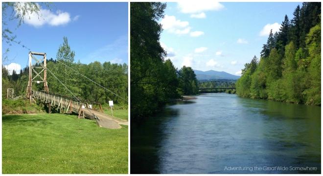 Bridge at John MacDonald Memorial Campground