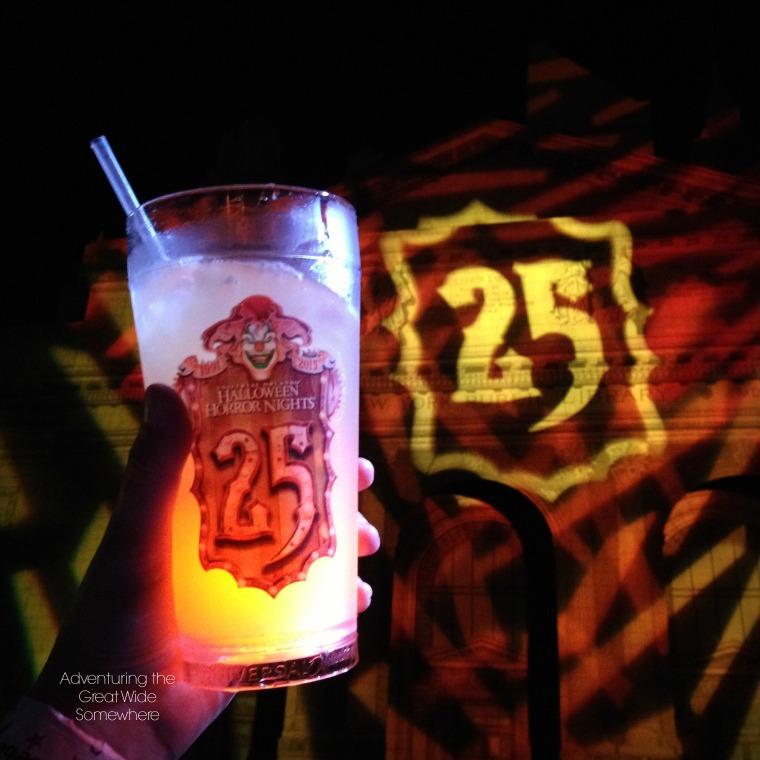 Drinking at Halloween Horror Nights
