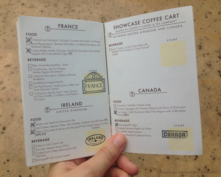 Epcot 2015 Food and Wine Fest Passport