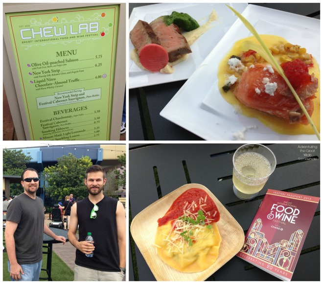 Epcot Food and Wine Fest Chew Lab