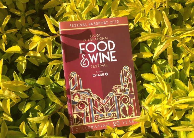 Epcot Food & Wine Festival Passport