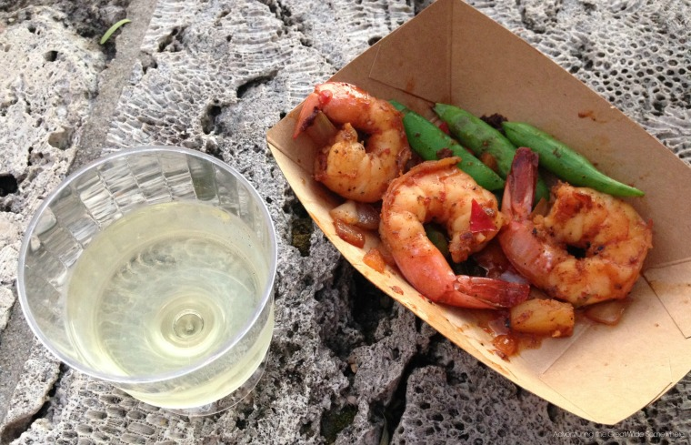 Epcot Grilled Sweet and Spicy Bush Berry Shrimp