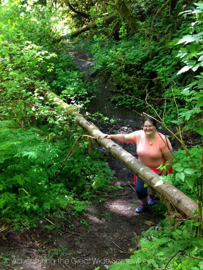 Mom on the Puget Loop Birding Trail