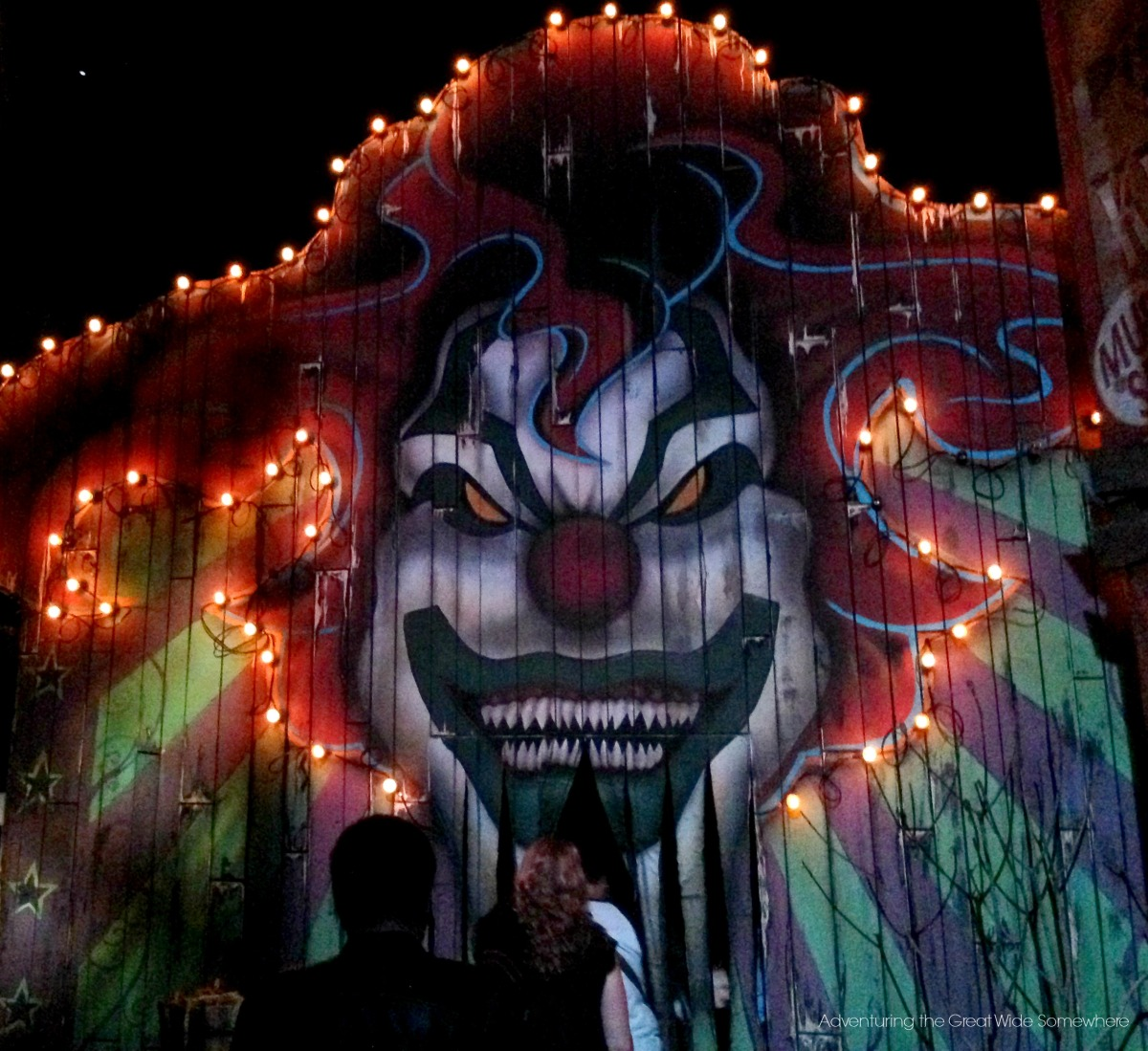 Monsters and Mayhem Entrance