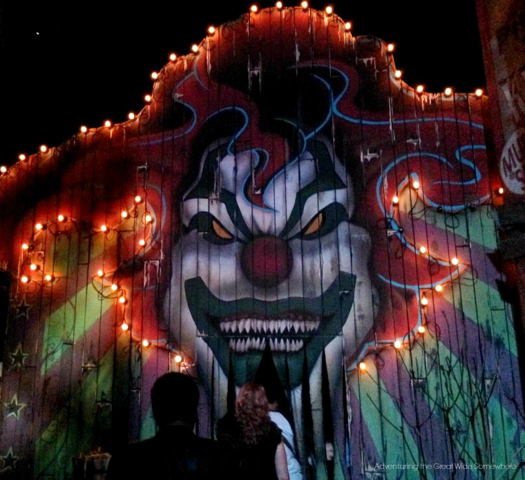 Monsters and Mayhem Entrance