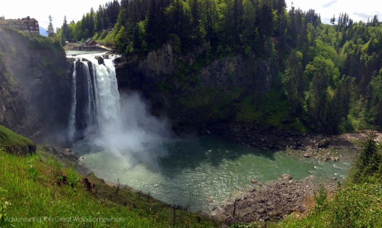 Snoqualmie Falls in the Spring
