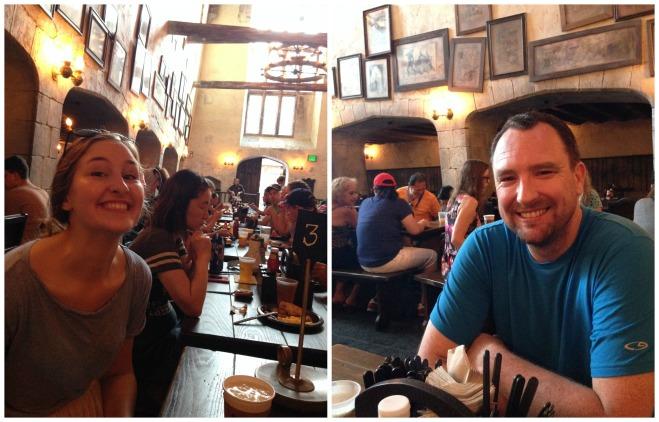 Breakfast at The Leaky Cauldron