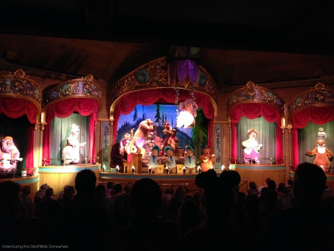 Country Bear Jamboree on a Rainy Day