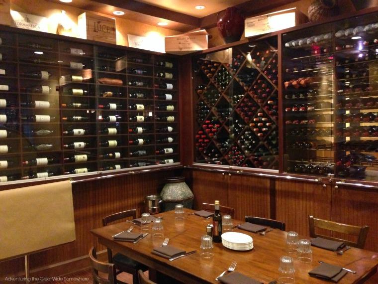 Disney Portobello Italian Country Trattoria Wine Room