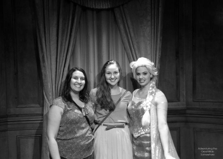Disney World Frozen Elsa Meet and Greet