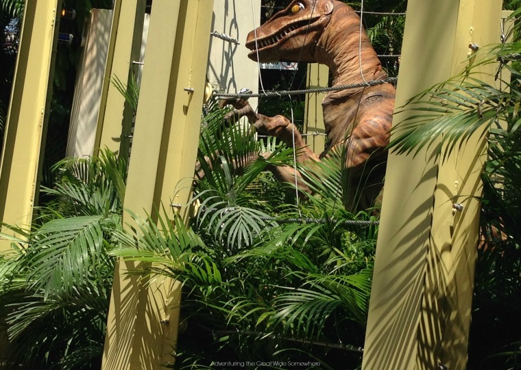Meet a Velociraptor at Universal