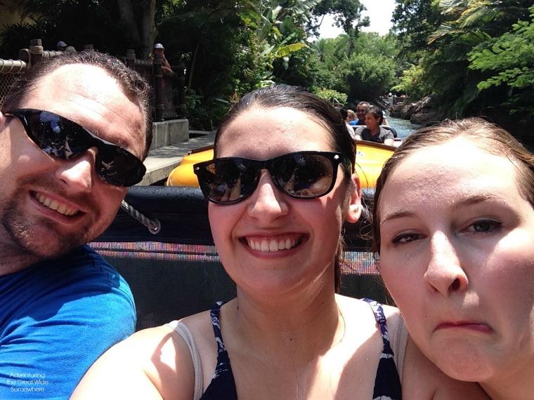 River Adventure Wet Selfie