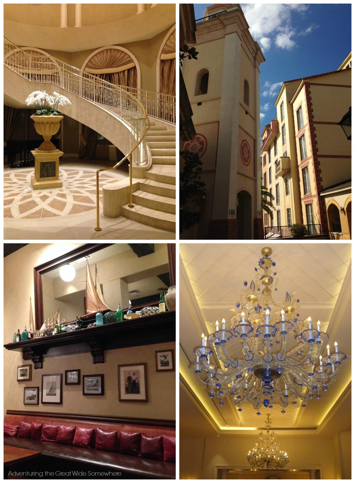 Seen Around the Loews Portofino Bay Hotel