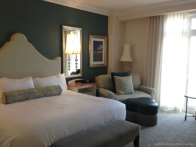 Standard Queen Bay View Room at Loews Portofino Bay Hotel