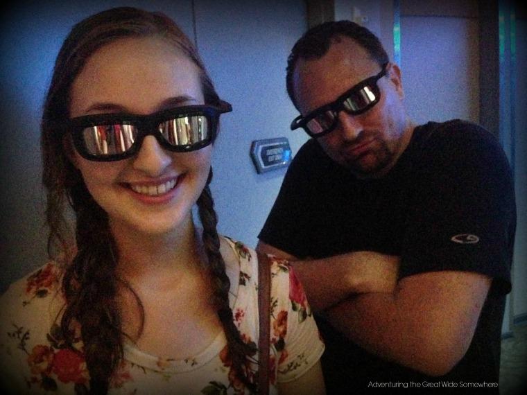 Star Tours 3D Glasses Disney World