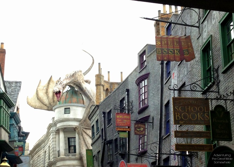 Street View of Diagon Alley