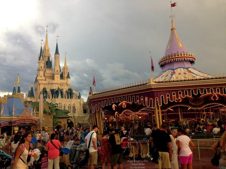 The Magic Kingdom After Rain