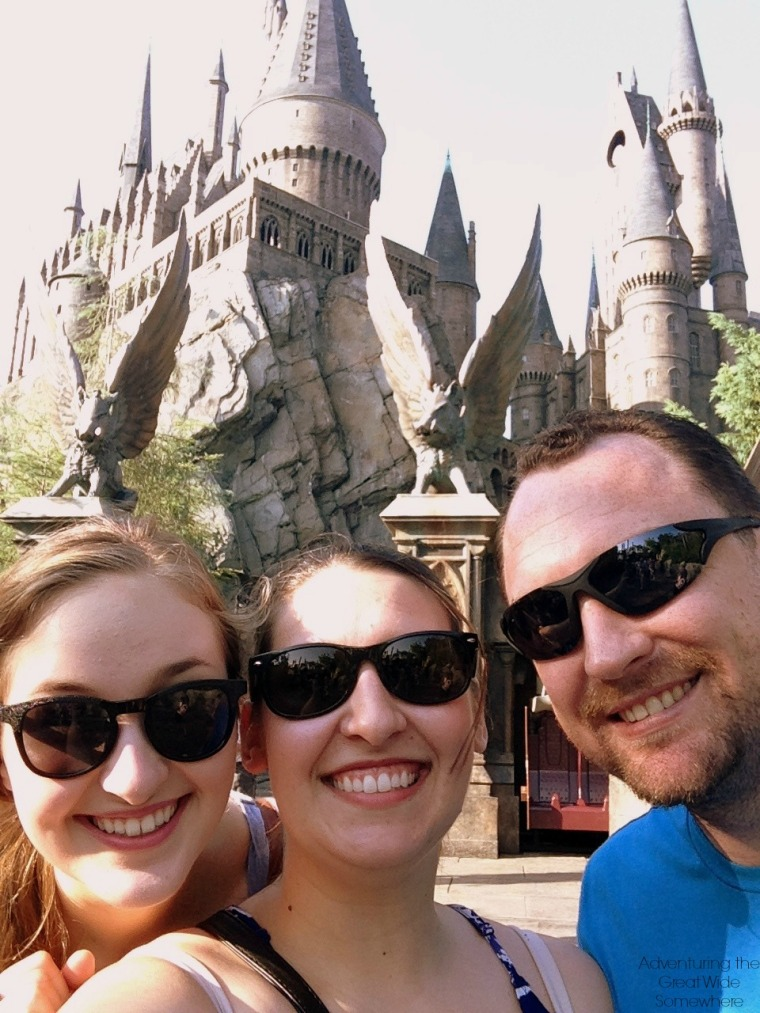 Visit Hogwarts Castle at Islands of Adventure