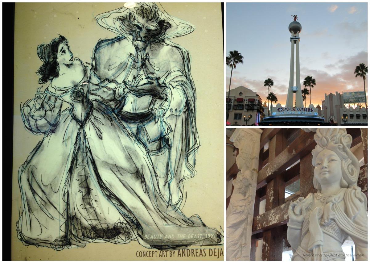 Details Seen Around Disney's Hollywood Studios