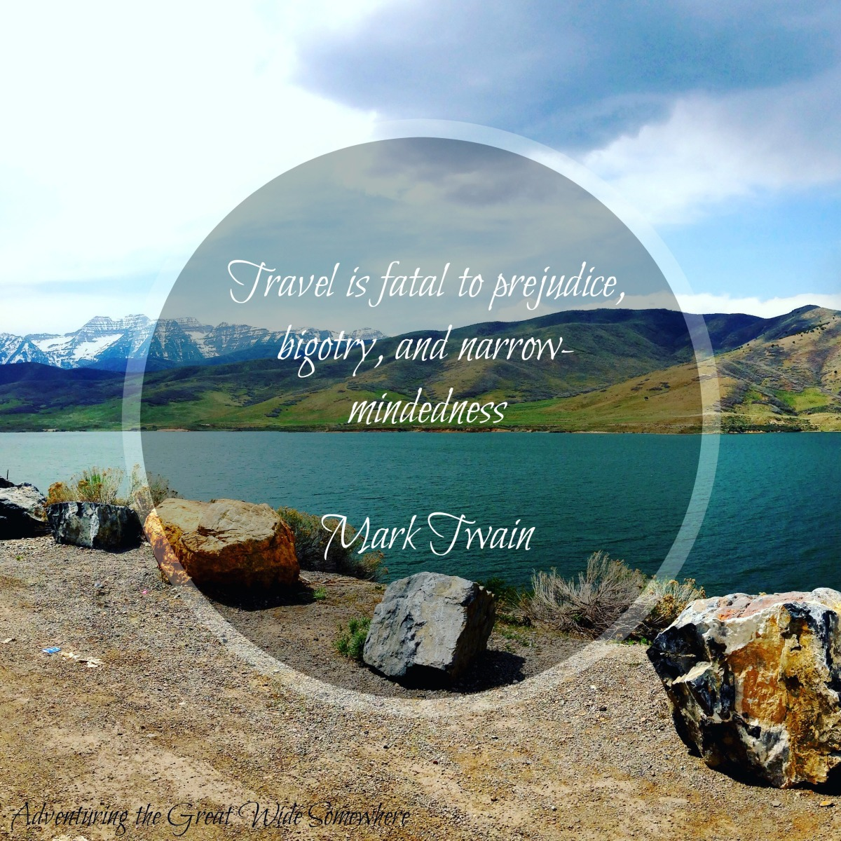 Mark Twain Travel is Fatal to Prejudice