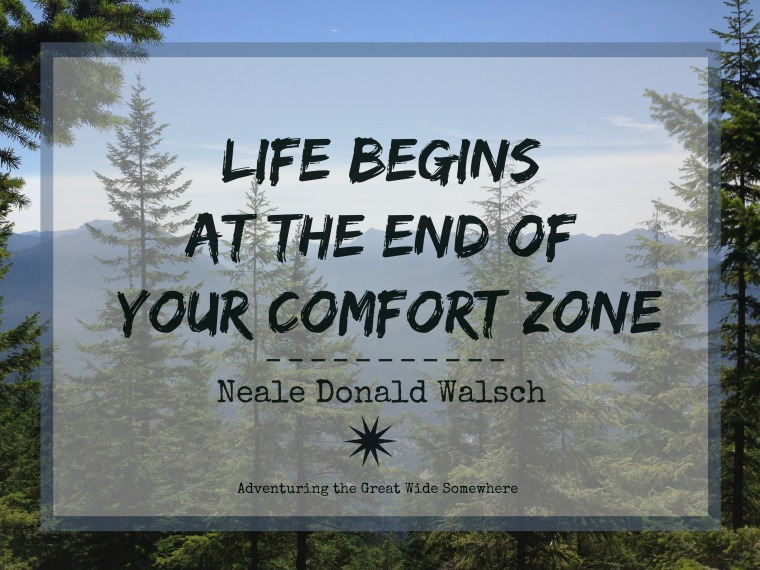 Neale Donald Walsch Life Begins at the End of Your Comfort Zone Quote