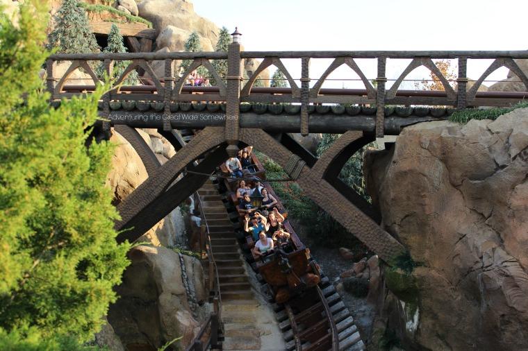Rocking Along the Seven Dwarfs Mine Train at Walt Disney World.jpg