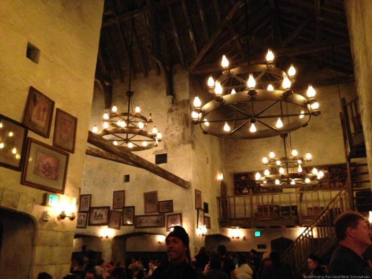 The Leaky Cauldron at Universal Orlando's Diagon Alley