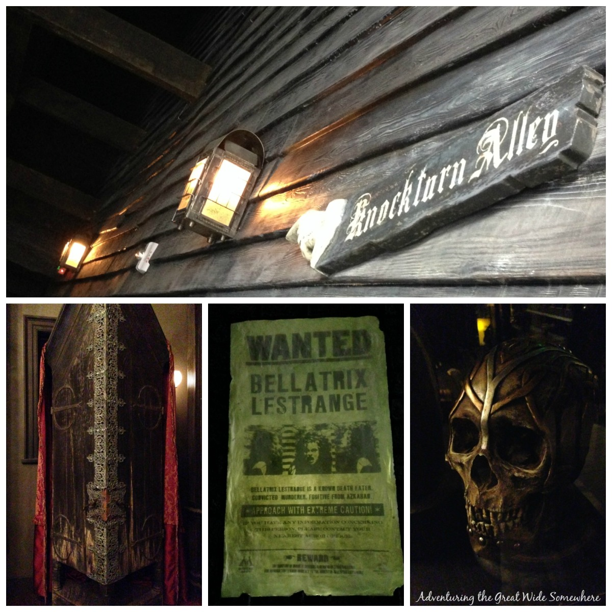 Creepy Details at Universal Orlando's Knockturn Alley
