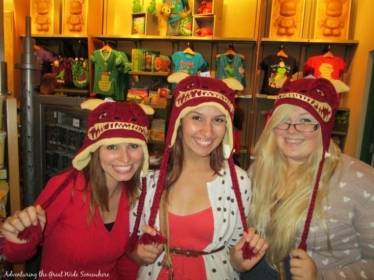 Dinosaur Hats at the Dinosaur Gift Shop in Animal Kingdom.jpg