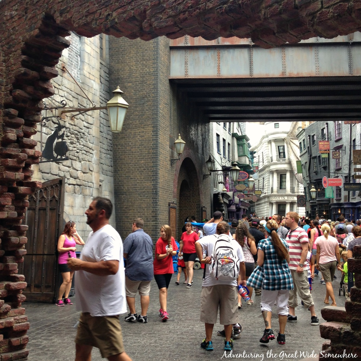 First Glimpse Into Diagon Alleyat Universal Studios Florida