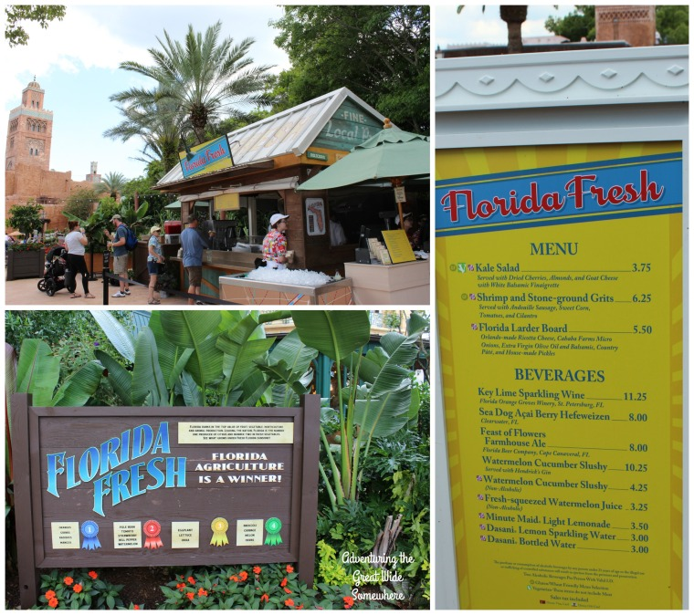 Florida Fresh Outdoor Kitchen at the Epcot Food and Wine Festival