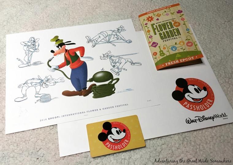 Free Art Prints for Disney Passholders at the 2016 Epcot Flower & Garden Festival.jpg