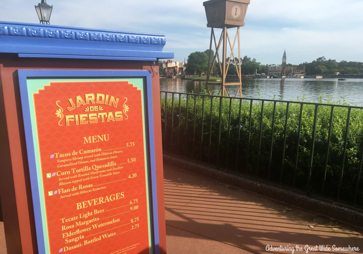 Jardin de Fiestas at the 2016 Epcot Flower and Garden Festival