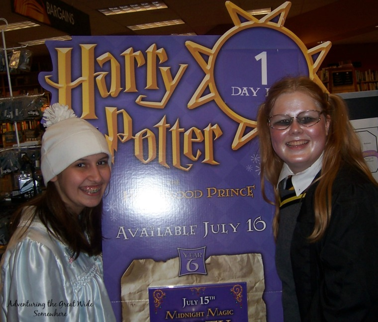 Just a Couple of Nerds at the Half Blood Prince Book Release
