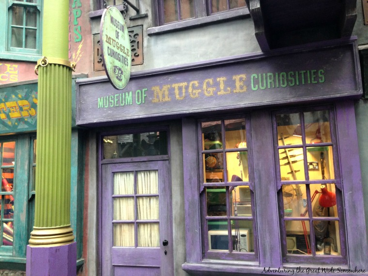 The Museum of Muggle Curiosities at Diagon Alley in Orlando