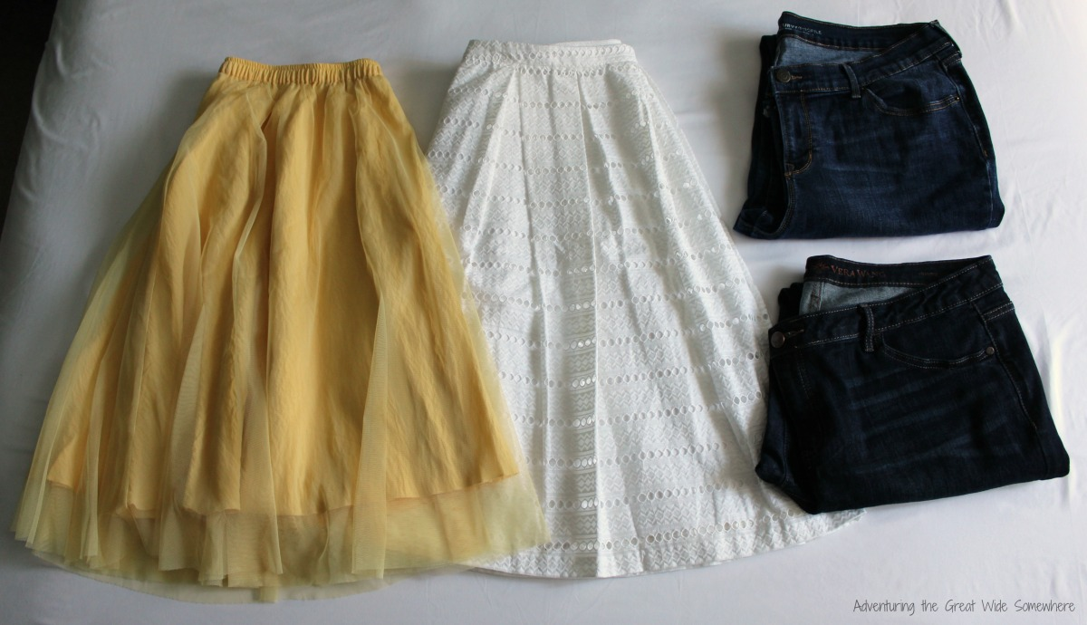 Capsule Wardrobe Packing Two Skirts, Two Jeans.jpg