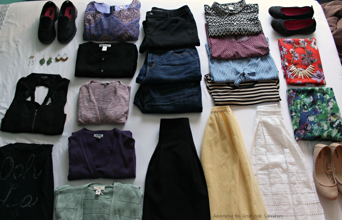 Full Capsule Wardrobe for Fuller Bodies in Europe
